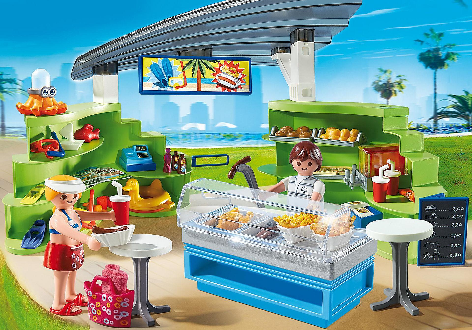 6672 Espace boutique et fast-food  zoom image1