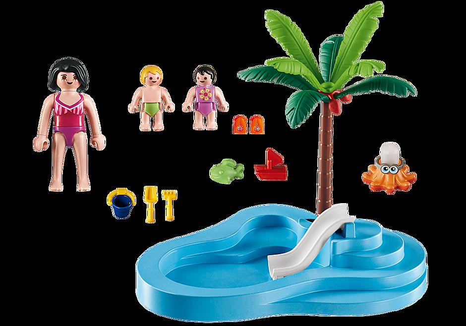 6673 Piscina pentru copii cu tobogan detail image 3