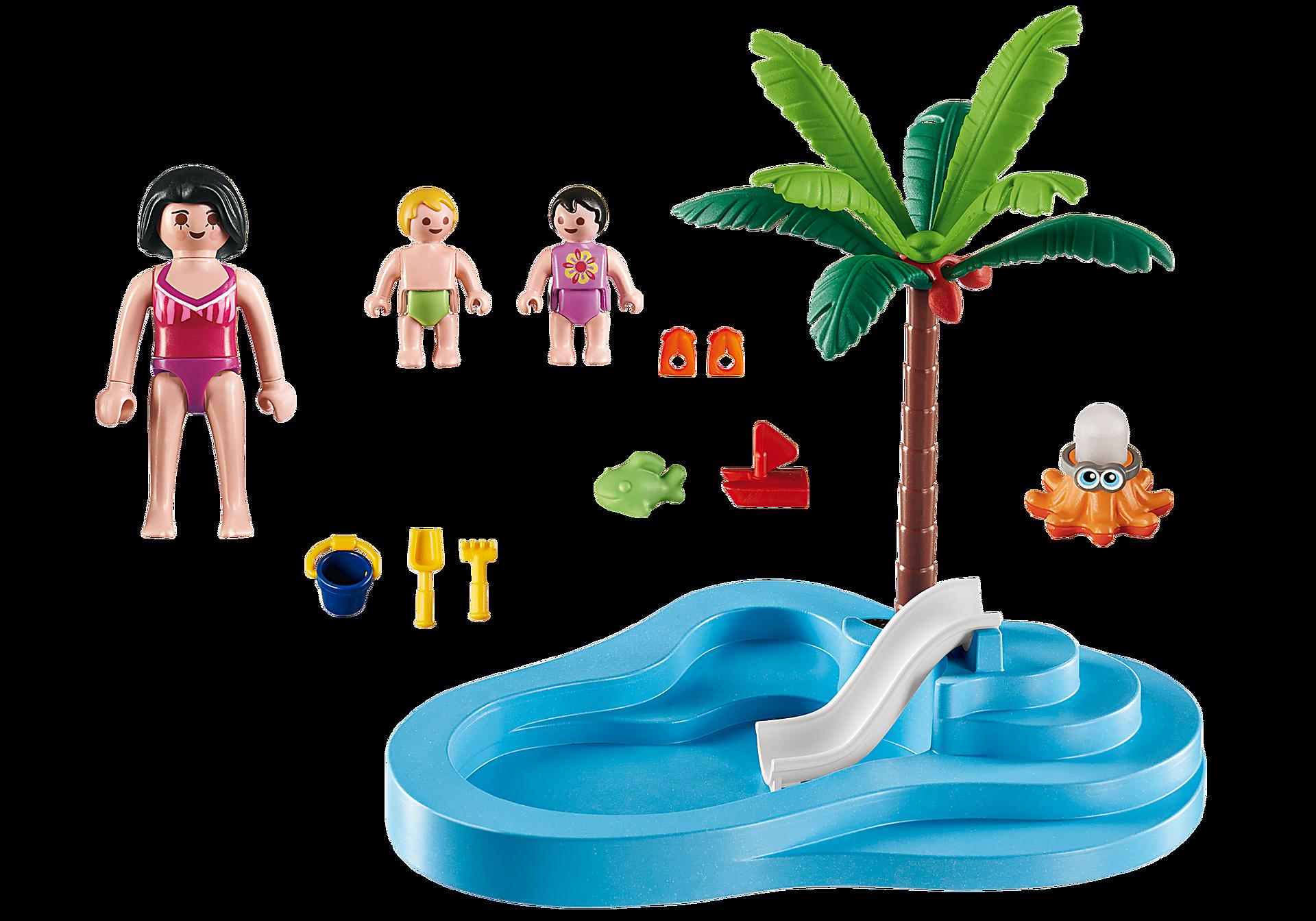 6673 Piscina pentru copii cu tobogan zoom image3