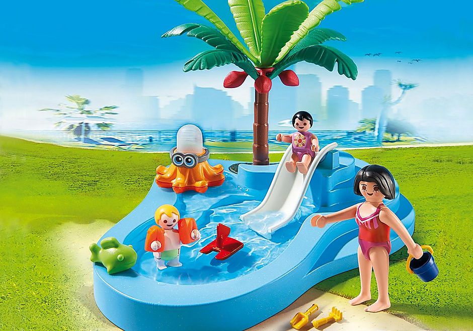 Voorkeur Kinderbad met glijbaan - 6673 - PLAYMOBIL® Nederland VC15