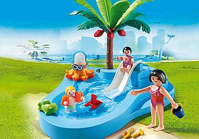 6673 Kinderbad met glijbaan