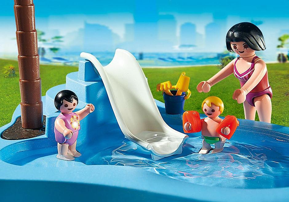 6673 Kinderbad met glijbaan detail image 4