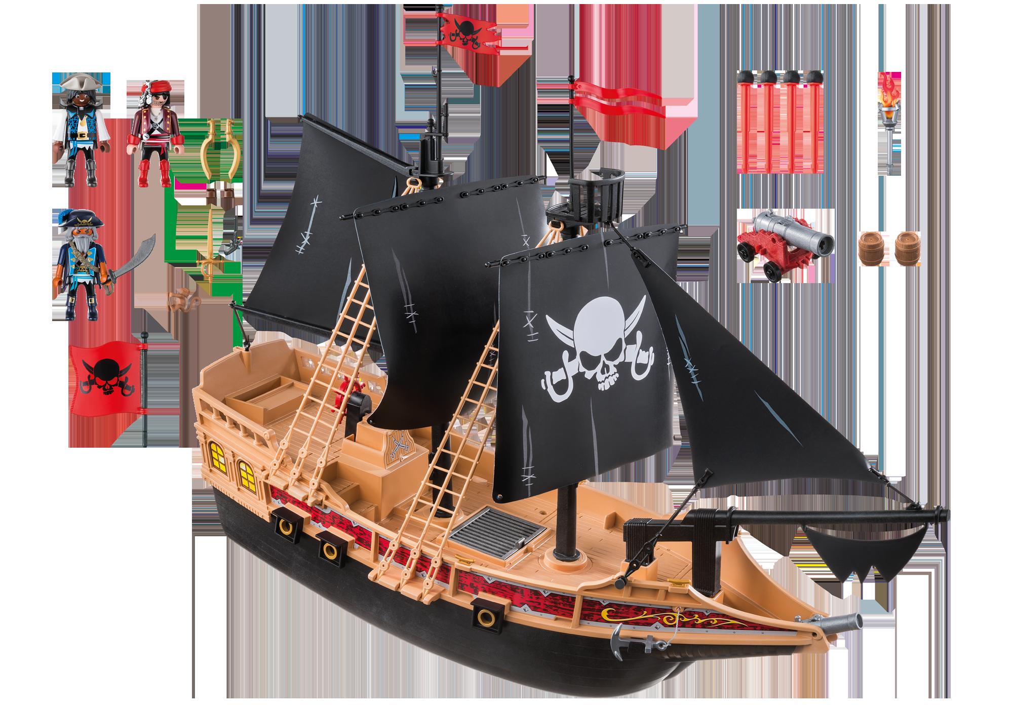 http://media.playmobil.com/i/playmobil/6678_product_box_back/Barco de Ataque dos Piratas