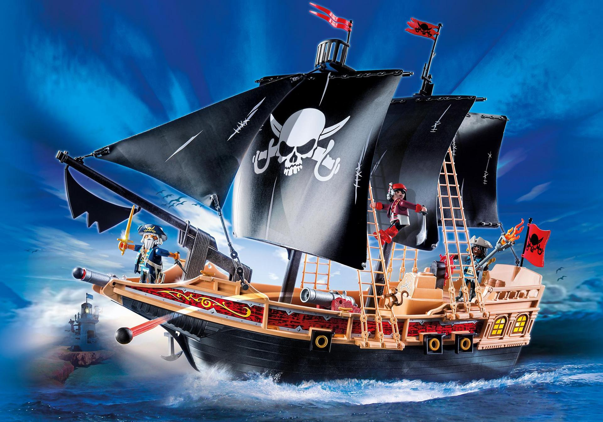 6678 playmobil - Bateau pirate peter pan ...