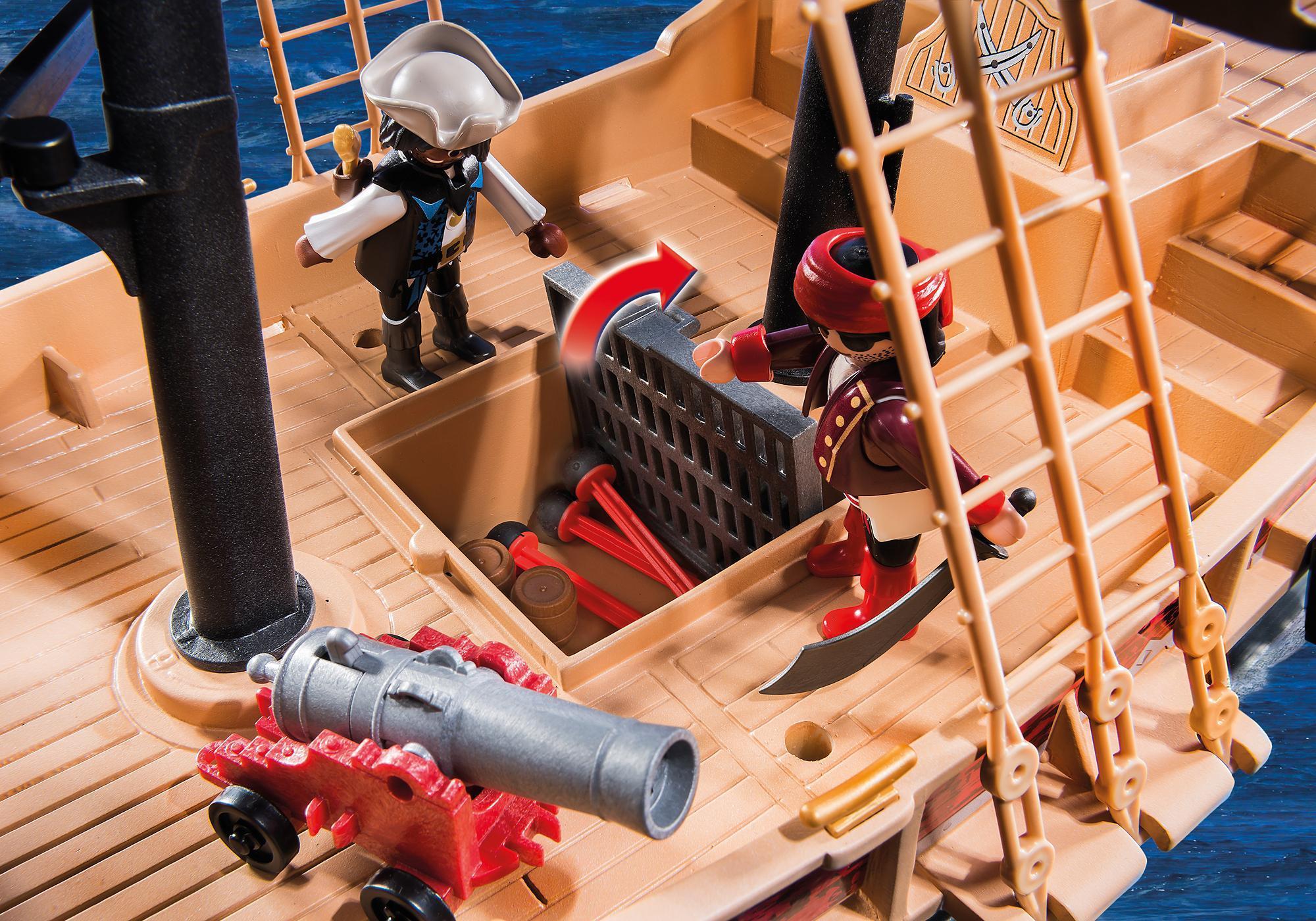playmobil piratskepp manual