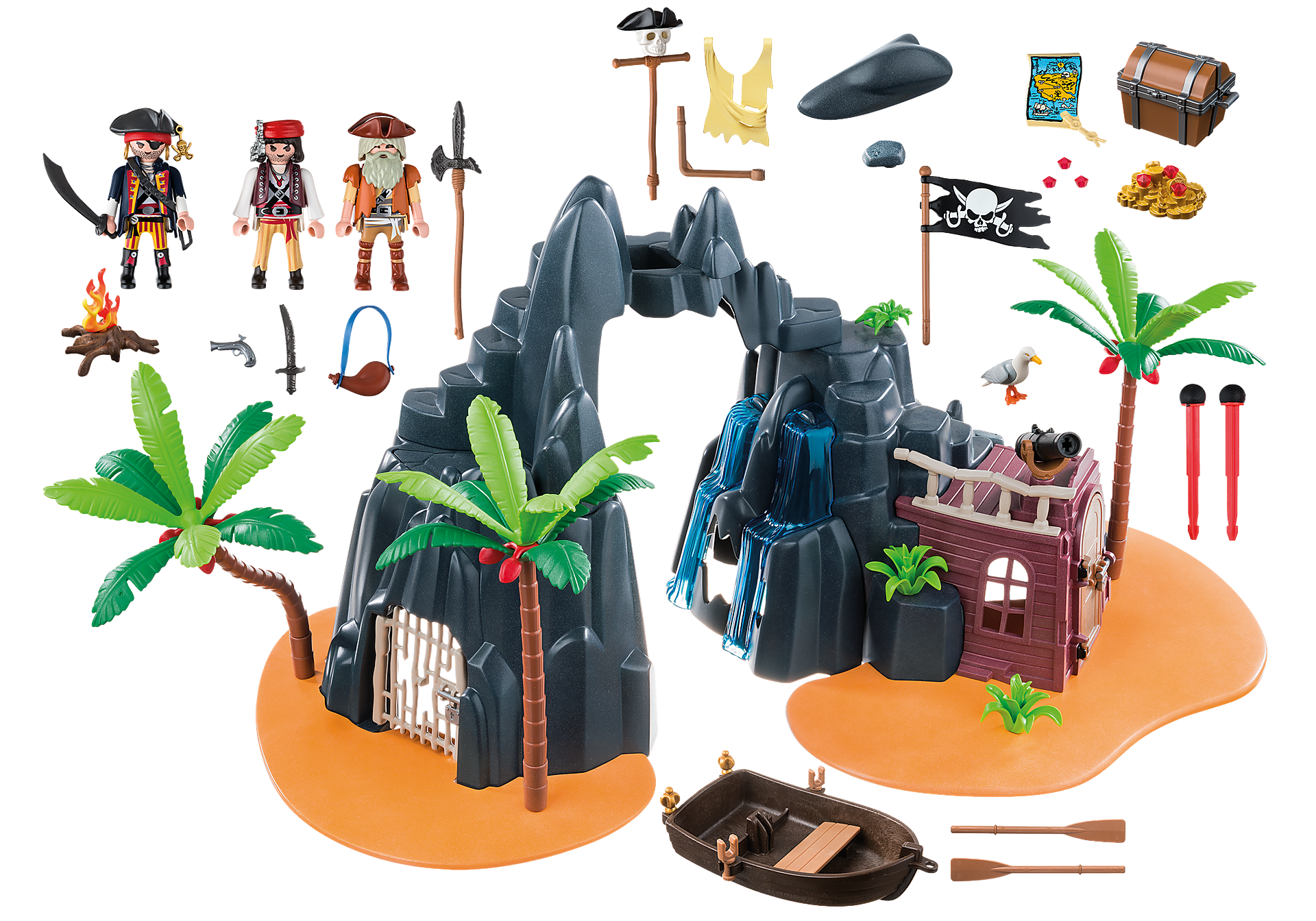 6679 Isola del tesoro fortificata zoom image4