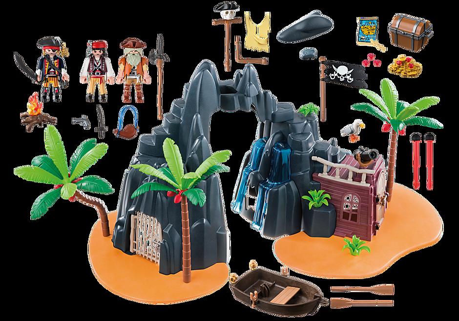 6679 Pirate Treasure Island detail image 4