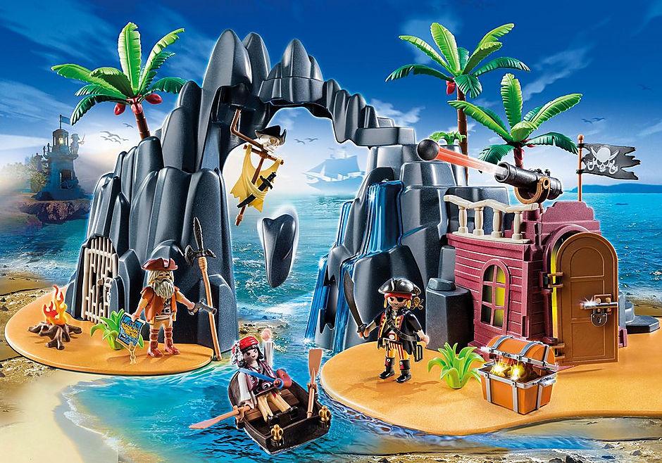 6679 Pirate Treasure Island detail image 1