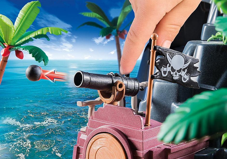6679 Pirate Treasure Island detail image 8