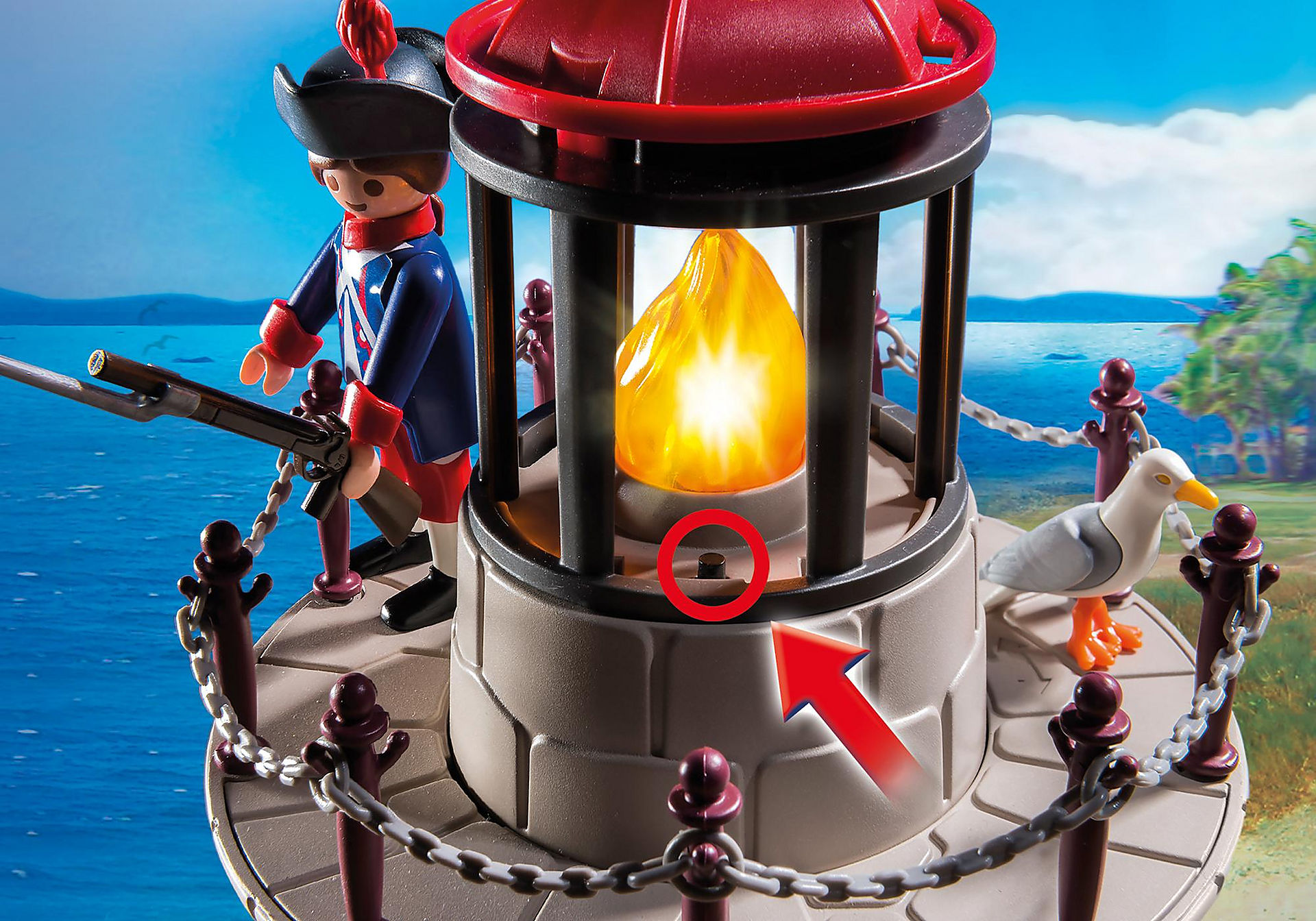 6680 Soldatenturm mit Leuchtfeuer zoom image5