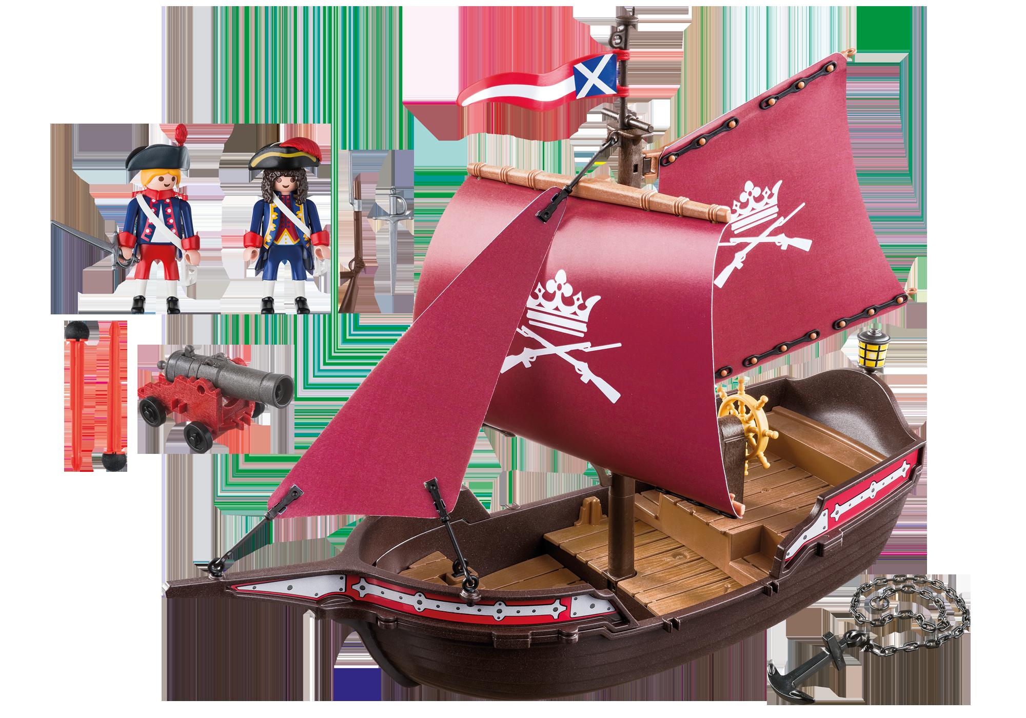 http://media.playmobil.com/i/playmobil/6681_product_box_back/Στρατιωτικό πλοιάριο περιπολίας
