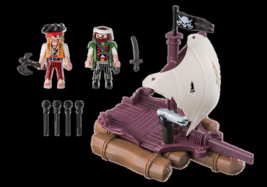 6682 Radeau avec pirates des ténèbres detail image 3