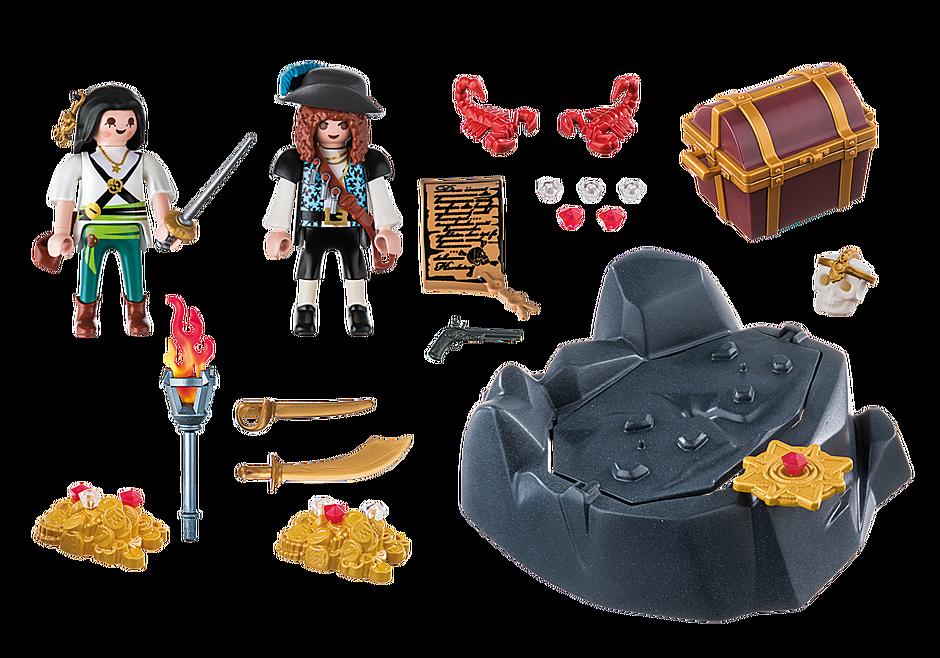 6683 Koninklijke schatkist met piraat detail image 3