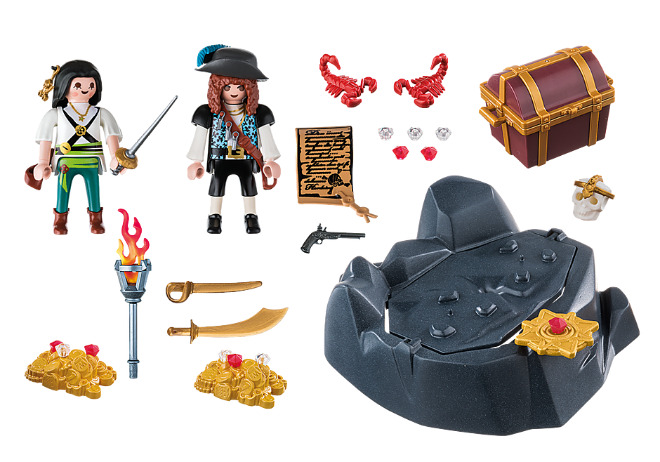 6683 Pirate Treasure Hideout detail image 3