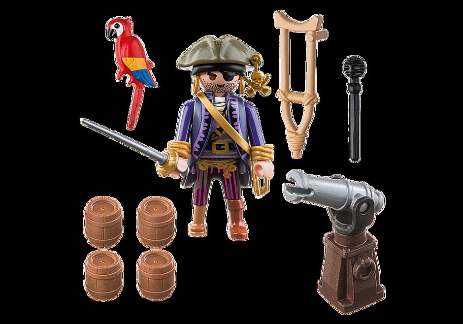 6684 Capitaine pirate avec canon  detail image 3