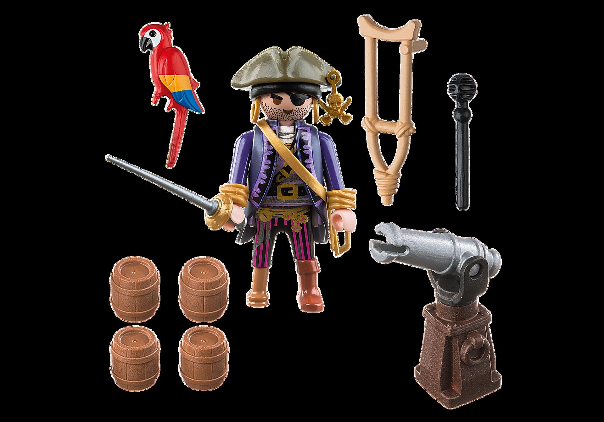 6684 Capitaine pirate avec canon  zoom image3