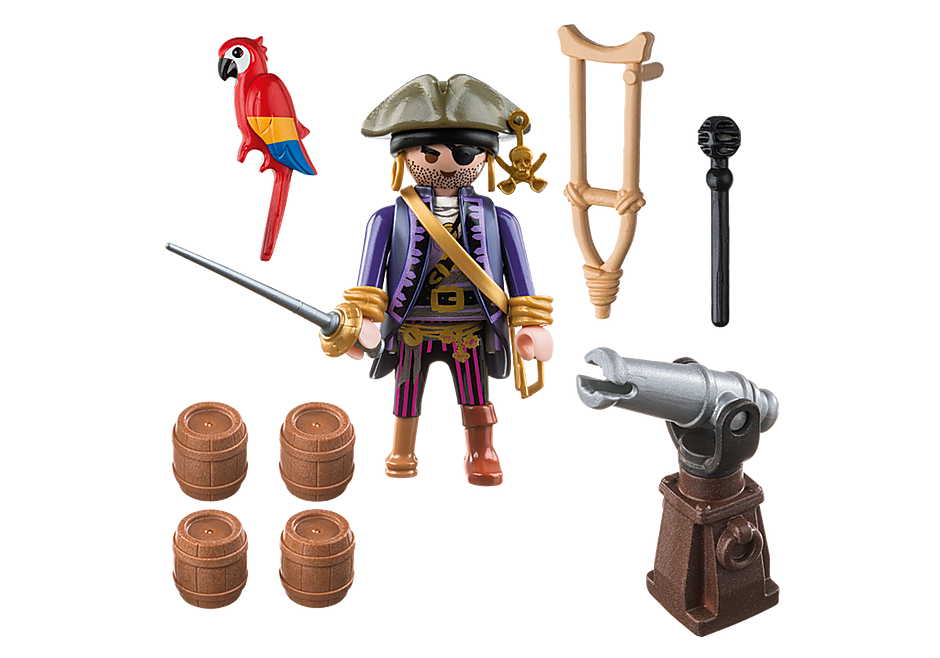 6684 Piratenkapitein Eénoog detail image 3