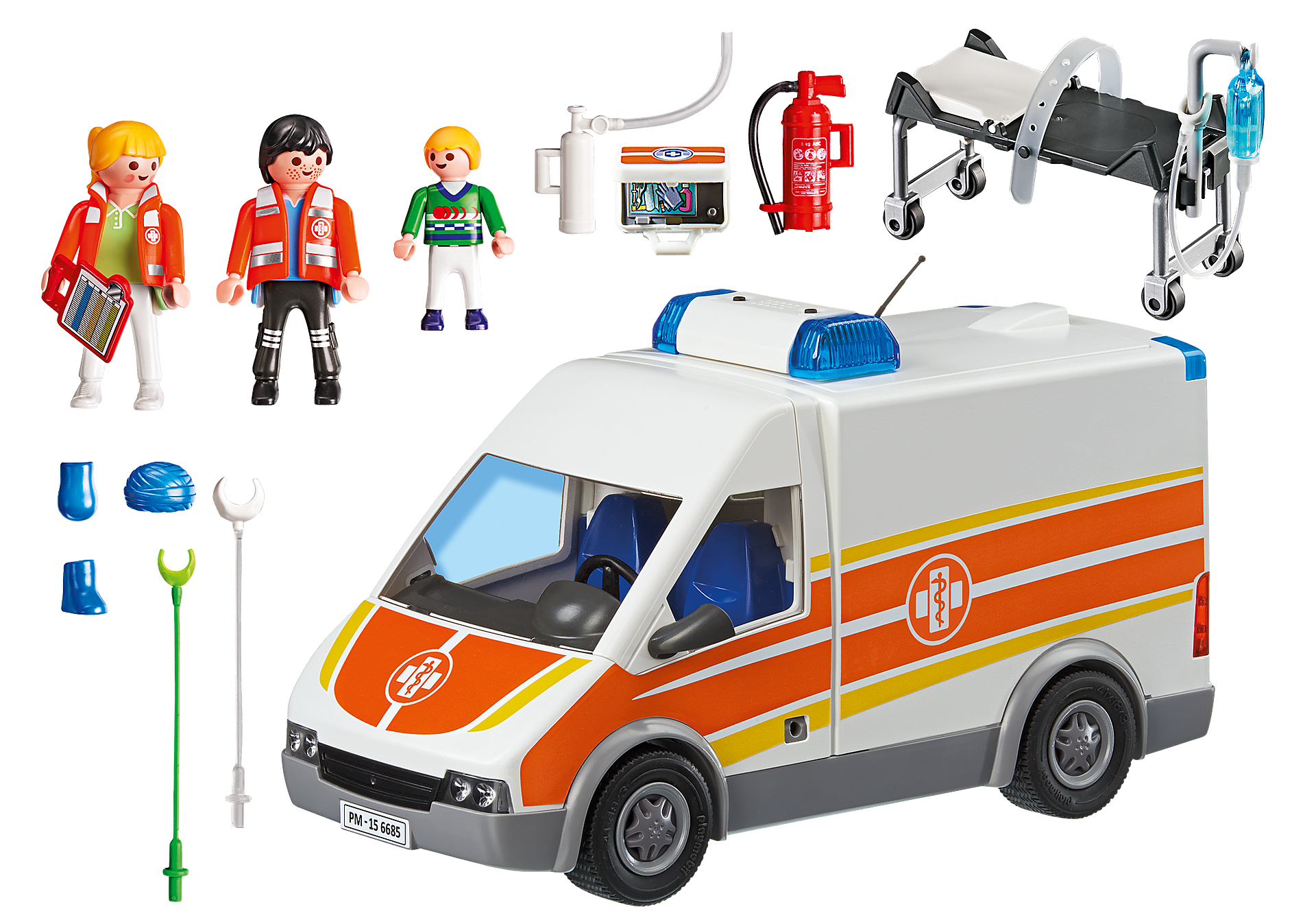 6685 Ambulance with Lights and Sound zoom image4