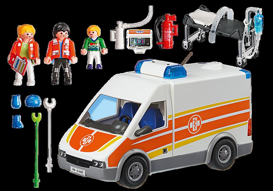 6685 Ambulancia con Luces y Sonido detail image 4