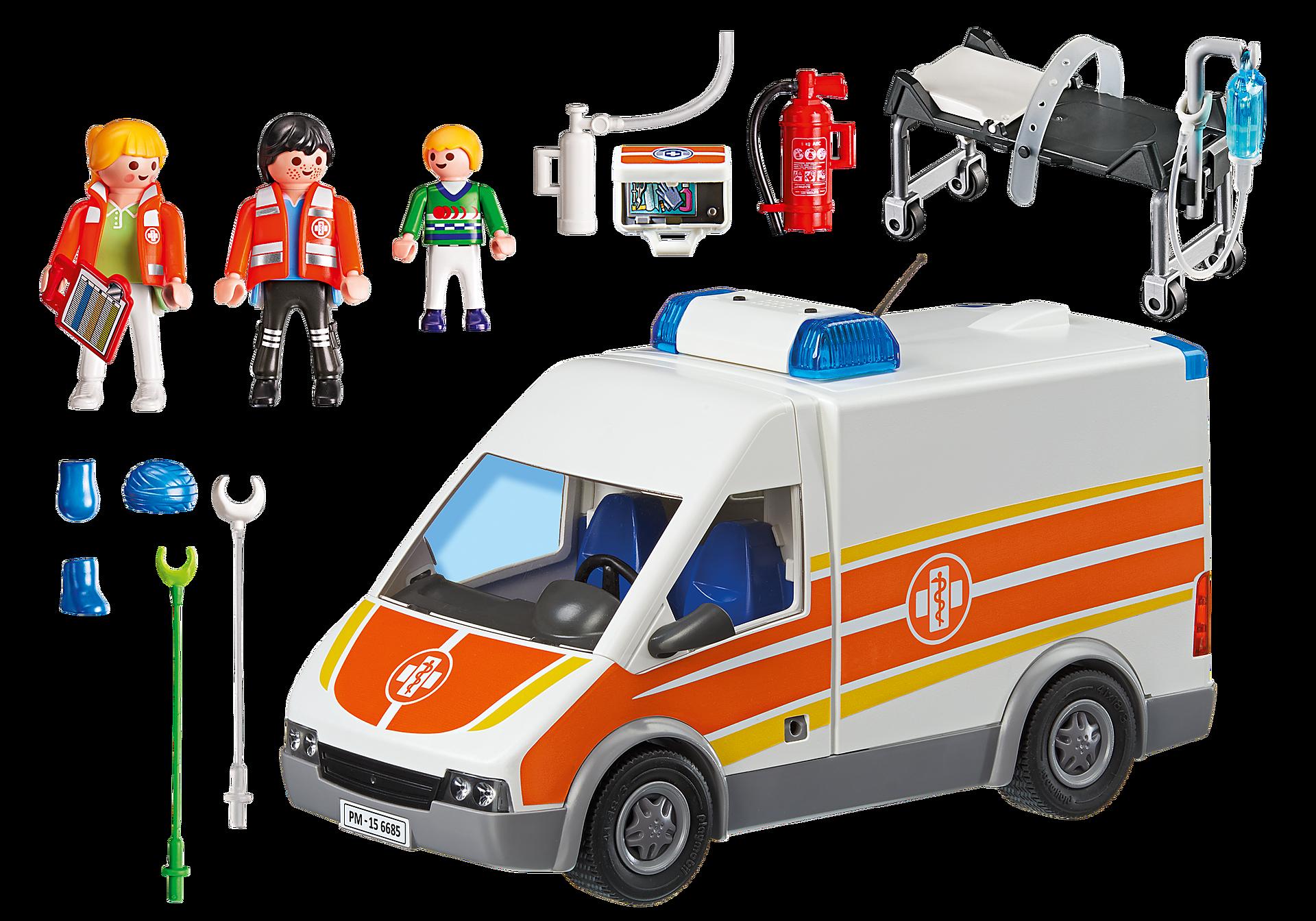 6685 Ambulans med ljus och ljud zoom image4