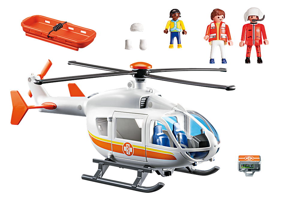 6686 Emergency Medical Helicopter detail image 4