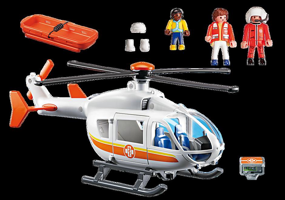 6686 Emergency Medical Helicopter detail image 4