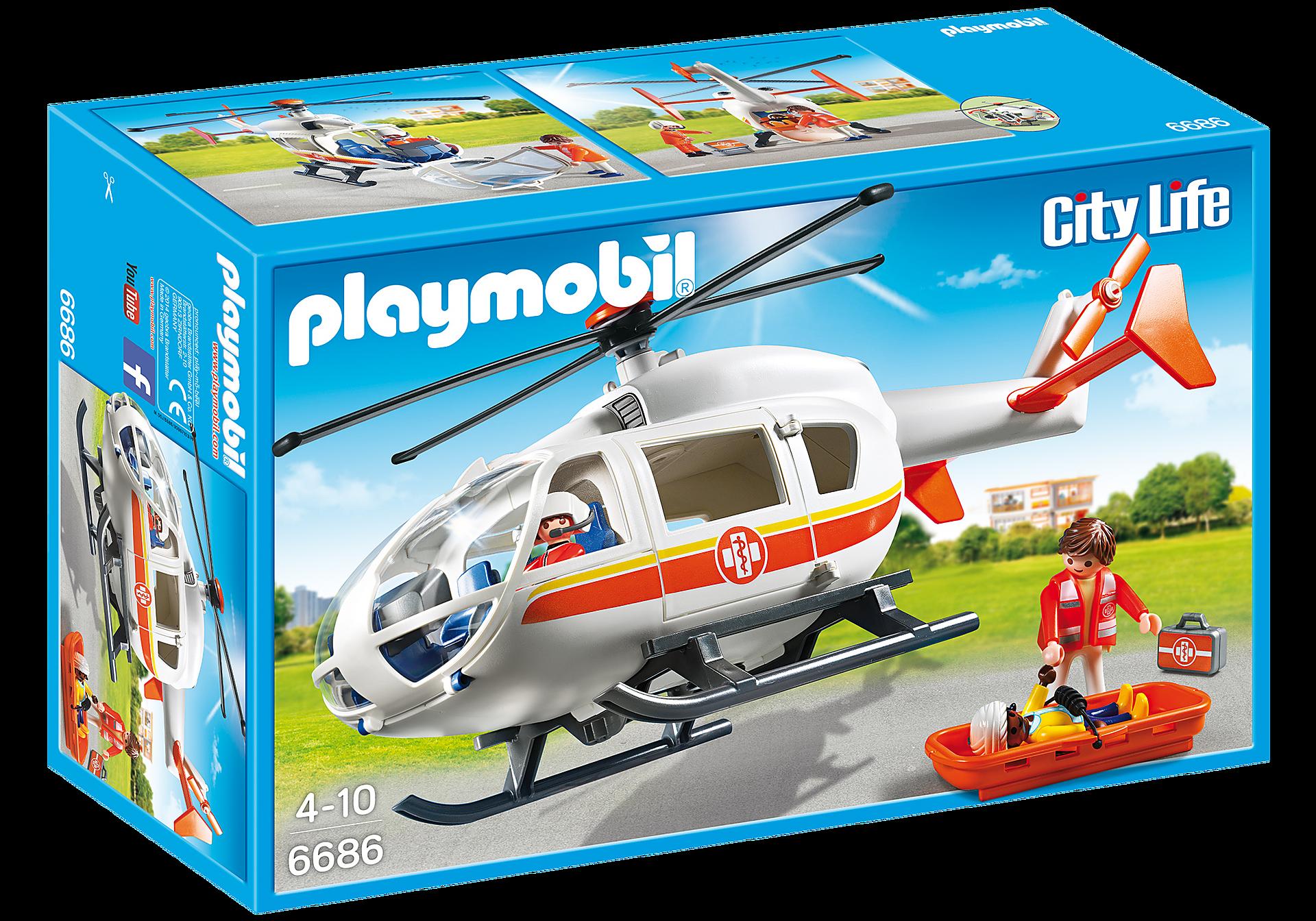 6686 Helicóptero Médico de Emergencia zoom image3