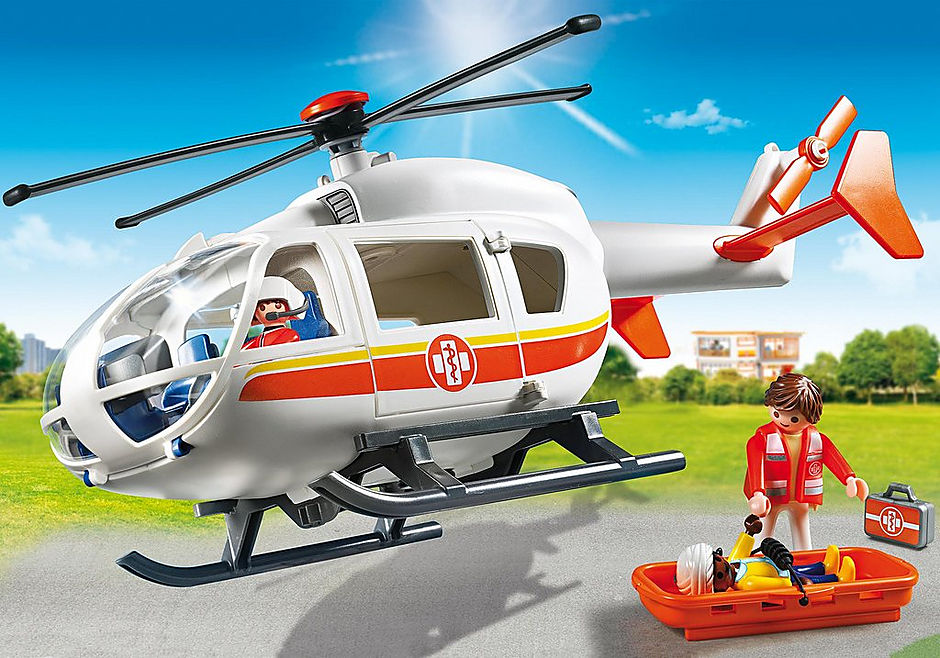 6686 Emergency Medical Helicopter detail image 1