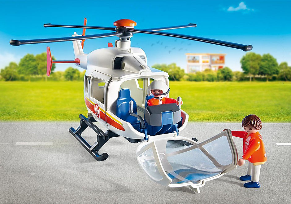 6686 Emergency Medical Helicopter detail image 5