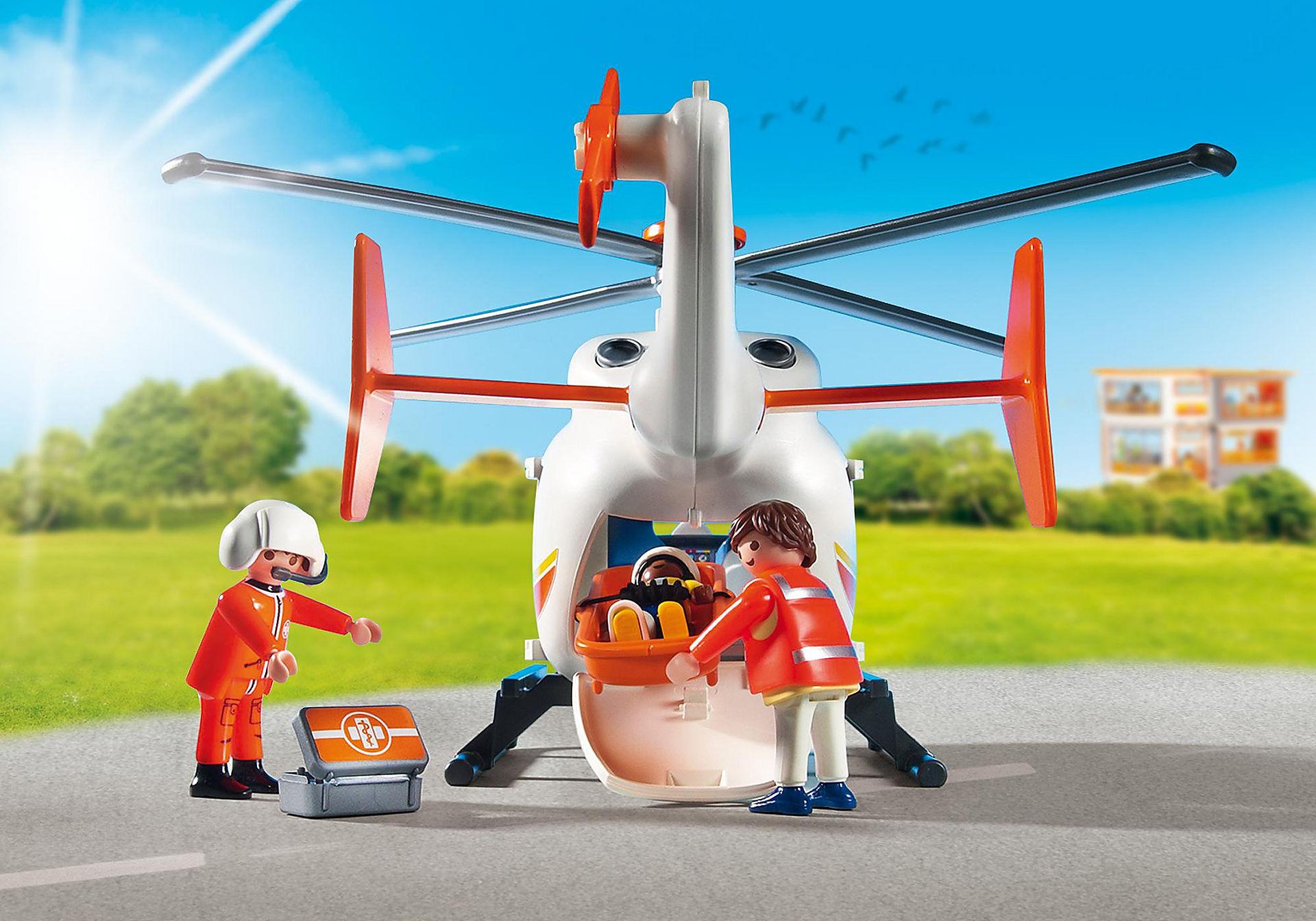 6686 Hélicoptère médical zoom image6