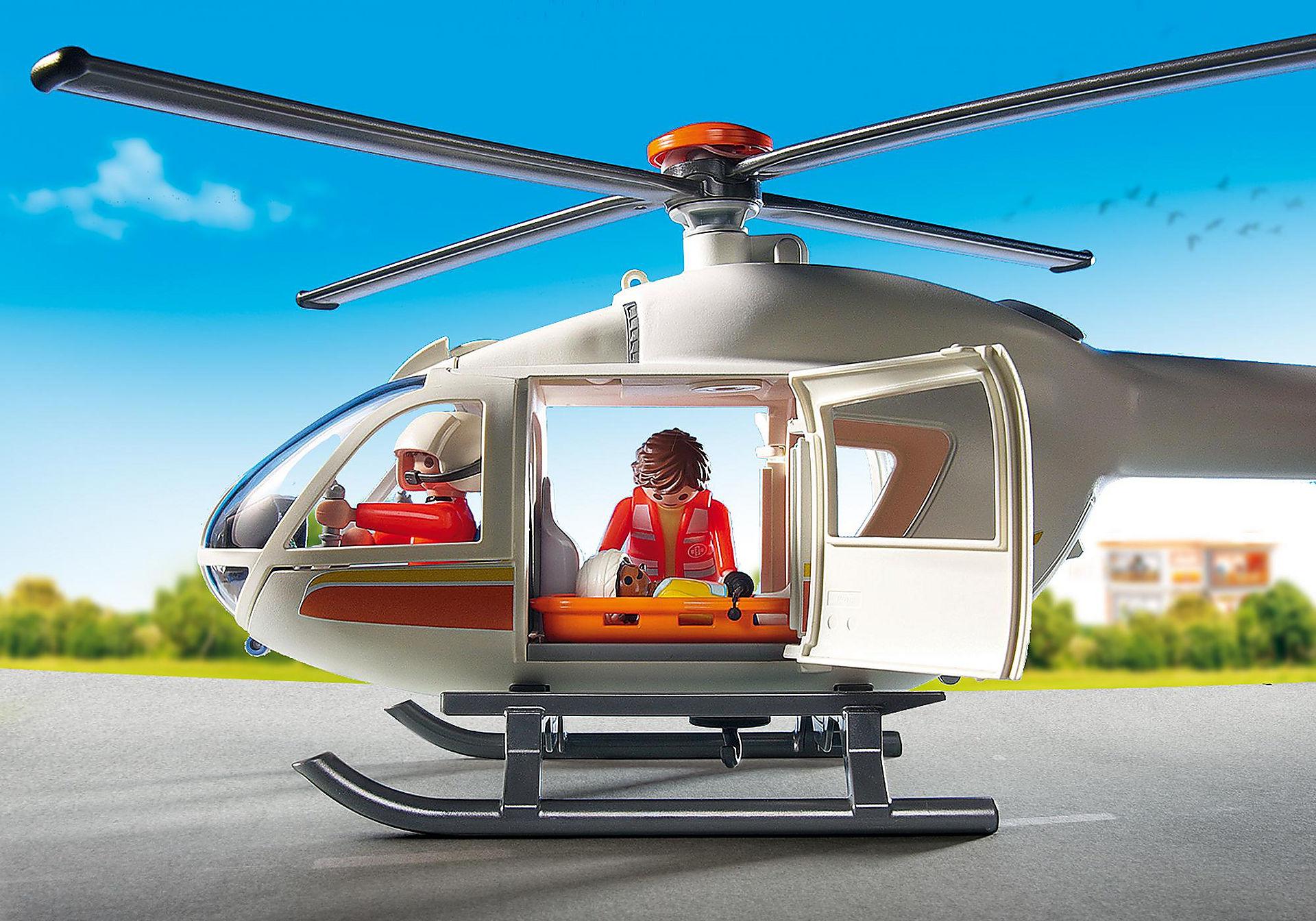 6686 Hélicoptère médical zoom image7