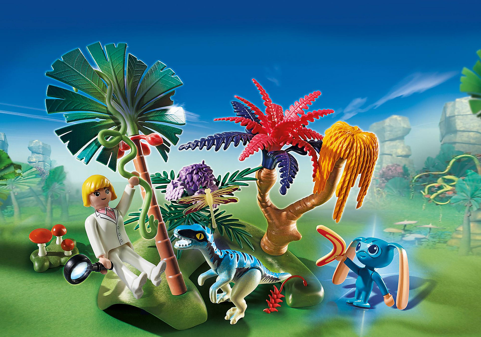 http://media.playmobil.com/i/playmobil/6687_product_detail/Lost Island with Alien and Raptor