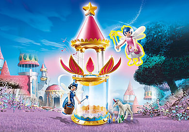 6688 Musical Flower Tower with Twinkle