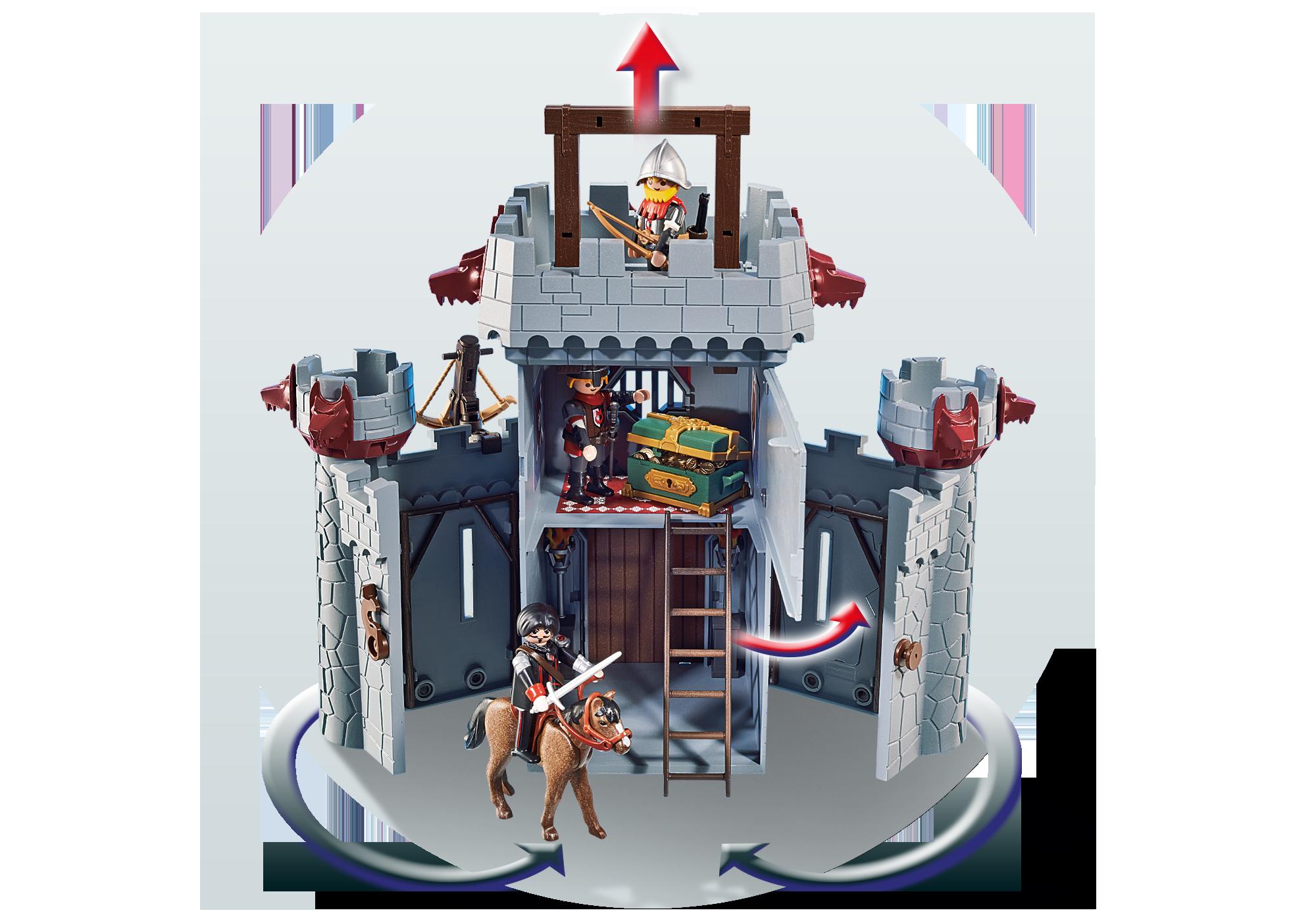 http://media.playmobil.com/i/playmobil/6697_product_extra4/Возьми с собой: Черный замок Барона Супер4