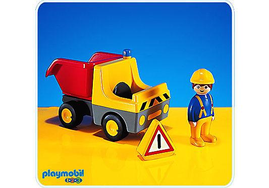 6702-A Camion travaux public benne detail image 1