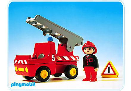 6704-A Feuerwehrauto detail image 1
