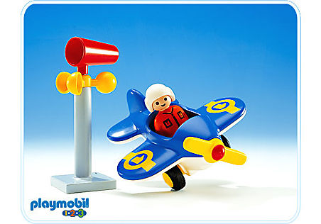 http://media.playmobil.com/i/playmobil/6707-A_product_detail/Avion / manche à air
