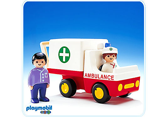 6708-A Ambulance / 2 personnages detail image 1