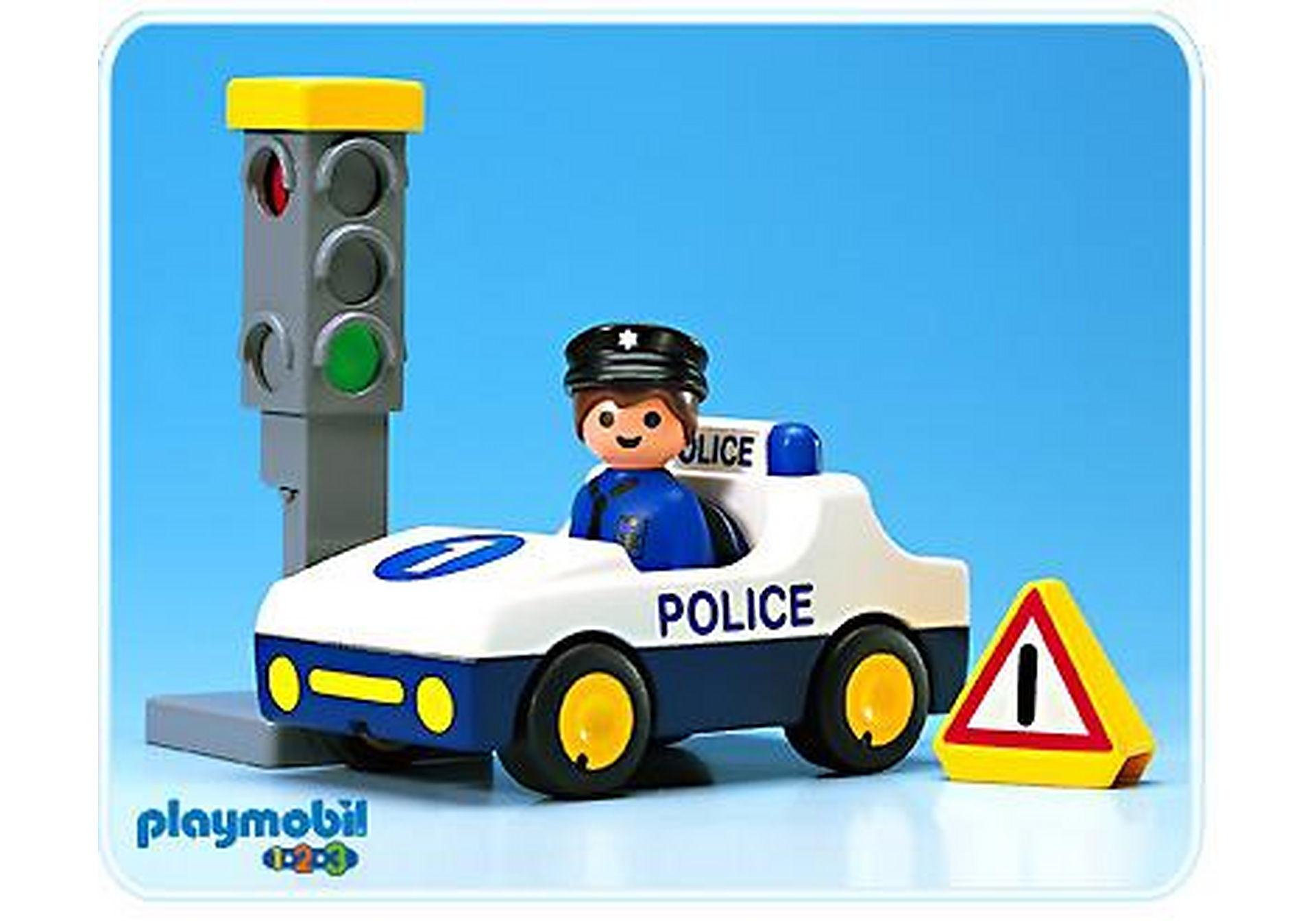 6709-A Voiture de police / feu tricolore zoom image1