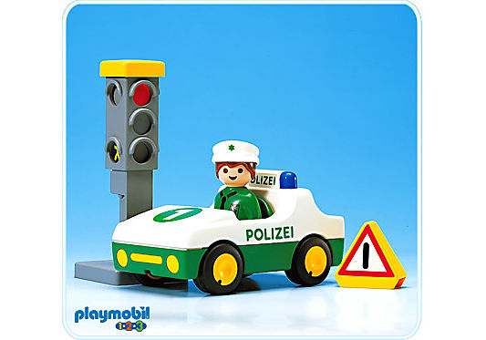 6710-A Polizei-PKW detail image 1