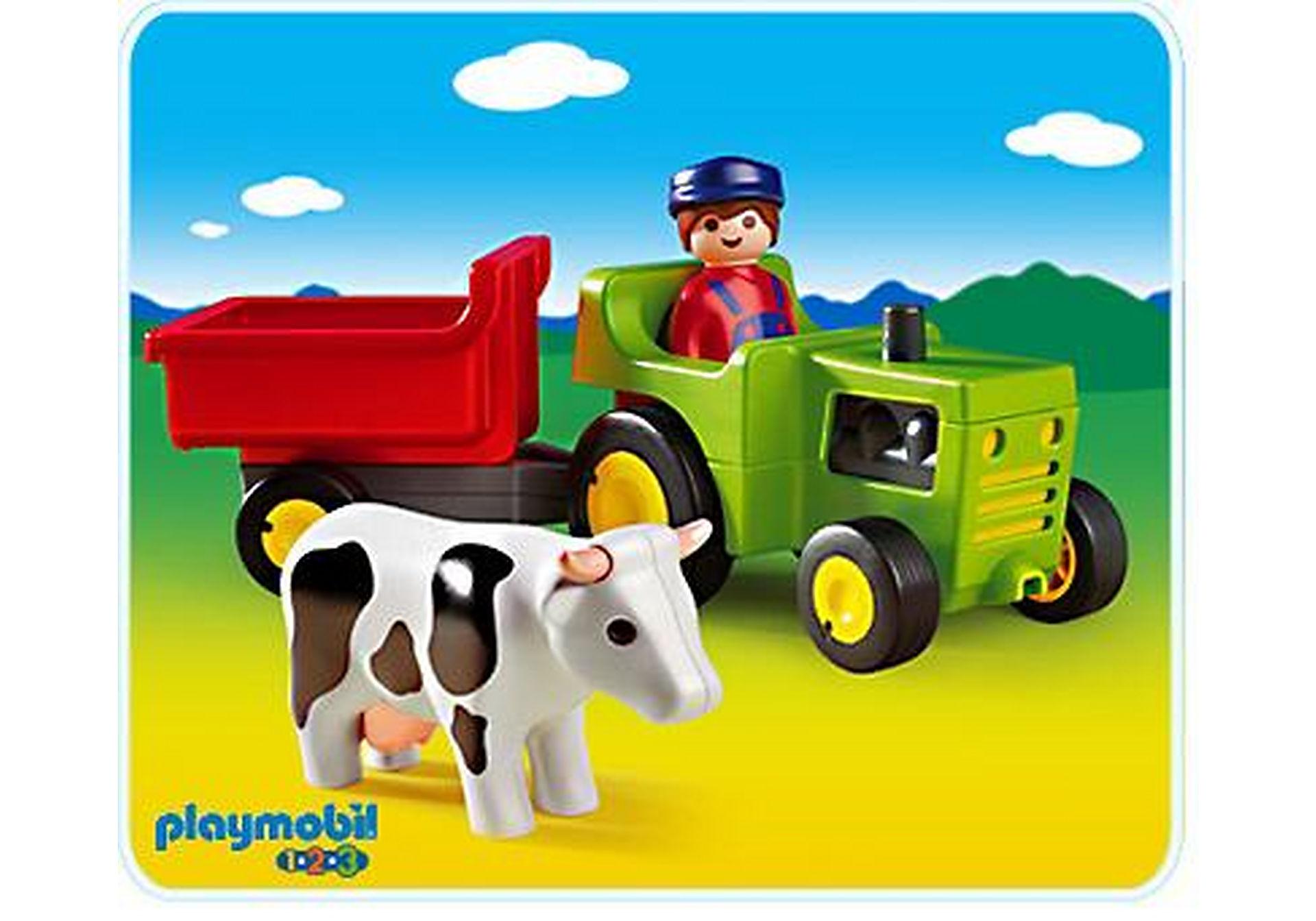 6715-A Traktor mit Anhänger zoom image1