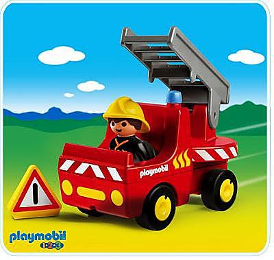 6716-A Feuerwehrauto detail image 1