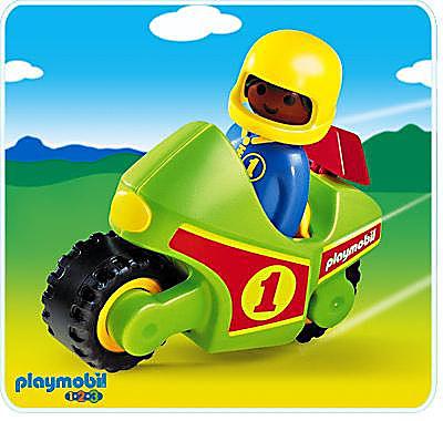 6719-A Pilote / moto de course 1.2.3 detail image 1