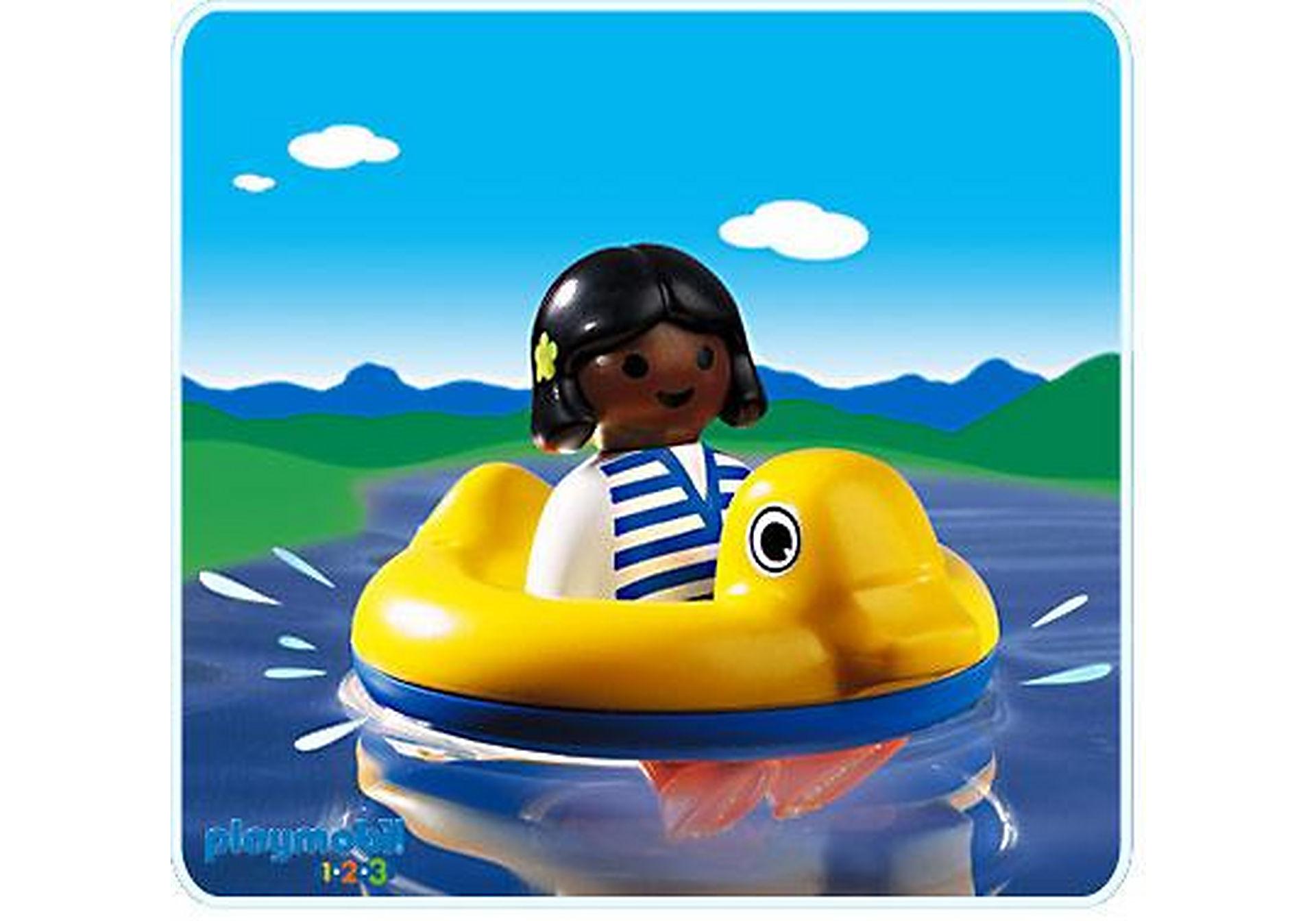6726-A Kind mit Schwimmreifen zoom image1