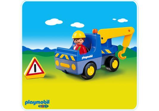 http://media.playmobil.com/i/playmobil/6733-A_product_detail/Conducteur / dépanneuse 1.2.3