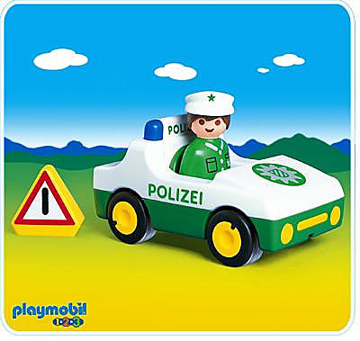 6736-A Polizeiauto detail image 1