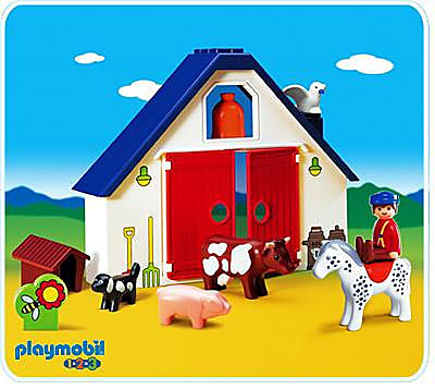 6740-A Kleine Tierfarm detail image 1