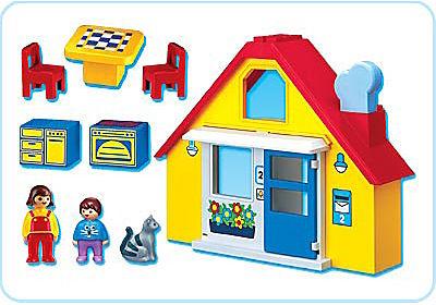 6741-A Kleines Wohnhaus detail image 2