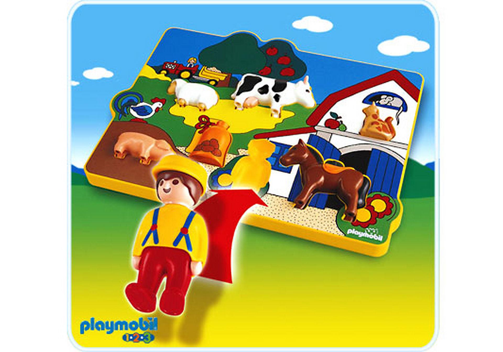 6746-A Spielpuzzle Bauernhof zoom image1