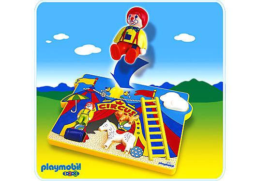 6747-A Spielpuzzle Zirkus detail image 1